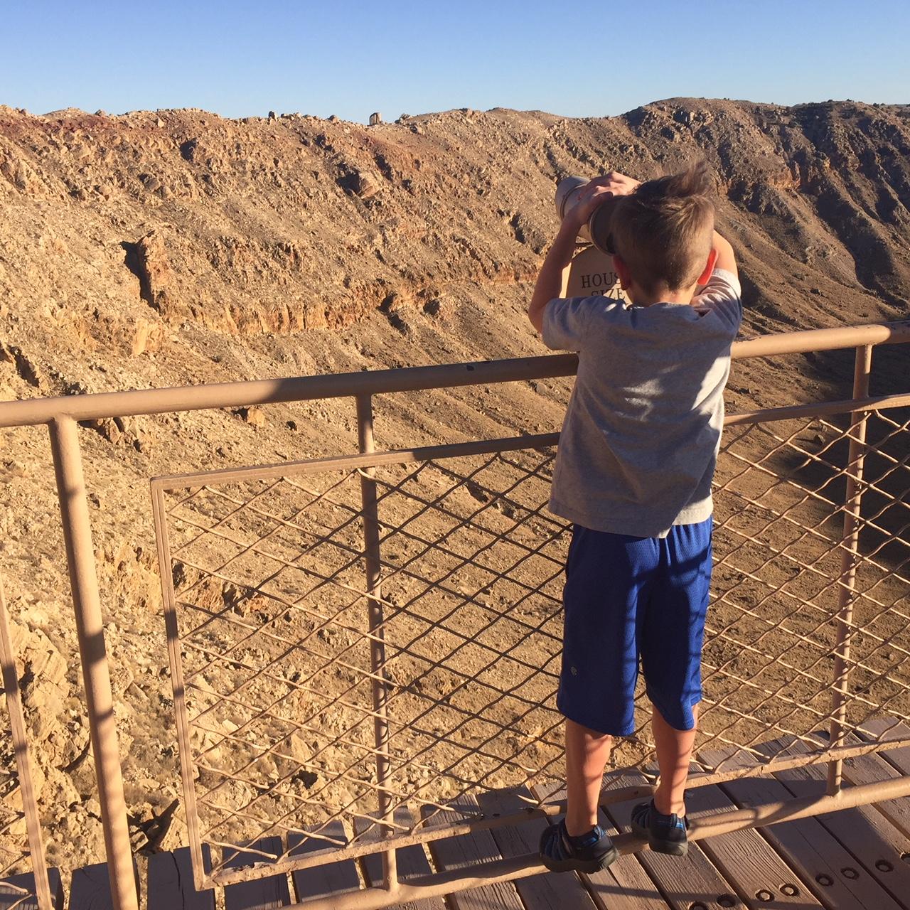 Barringer Meteor Crater National Natural Landmark