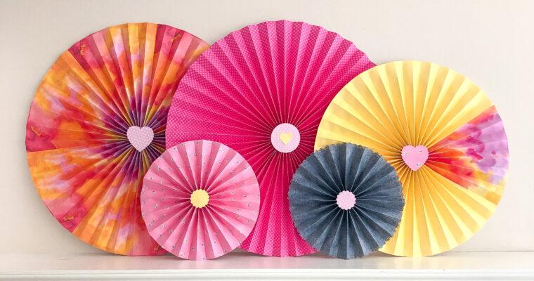 Paper Pinwheels Tutorial